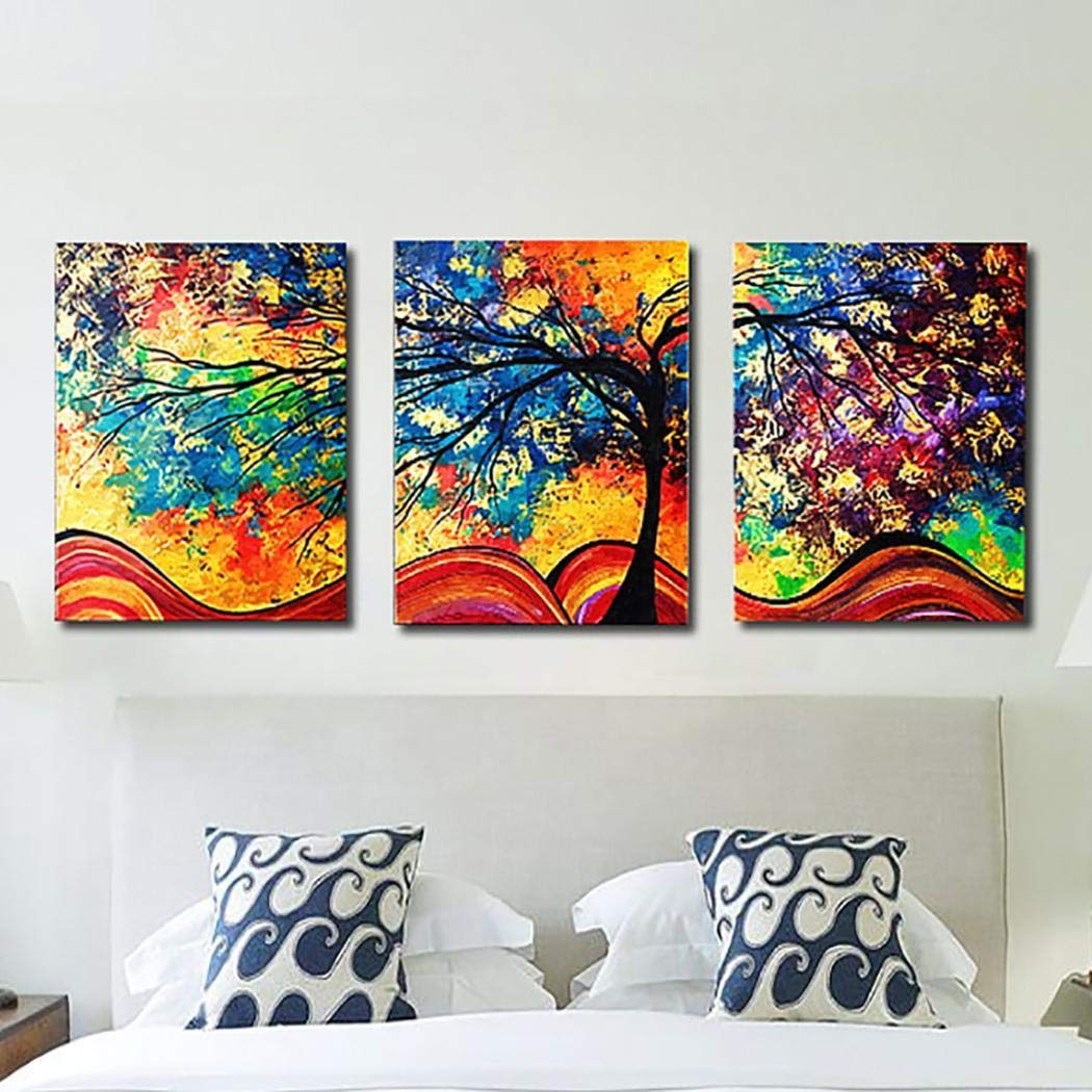 fnemo Pintura sin Marco de Moda Decoración de Oficina en casa Pintura Colgante Pinturas artísticas