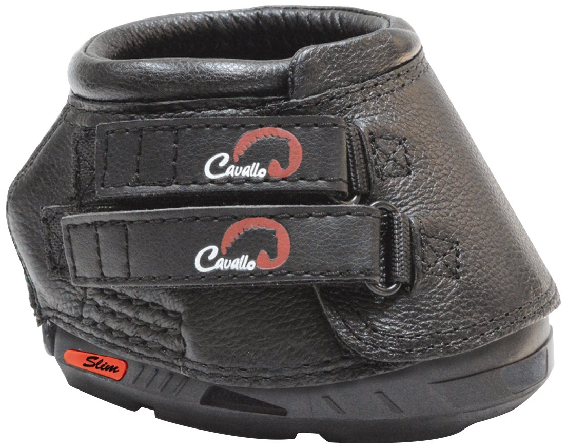 Cavallo Horse & Rider Simple Slim Sole Hoof Boot, Size 0