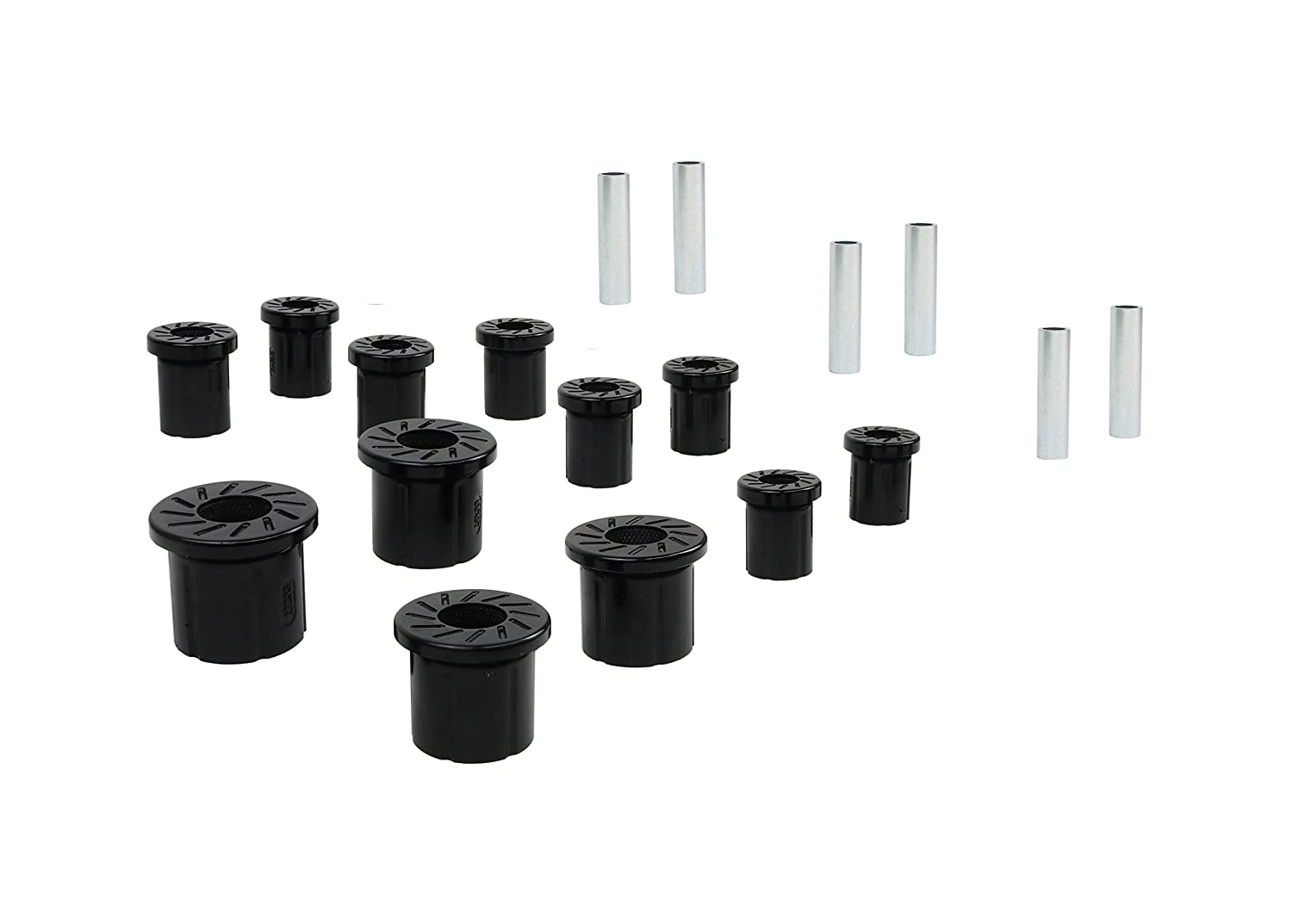 Nolathane REV161.0004 Black Rear Leaf Spring Bushing-with Moulded Shackles