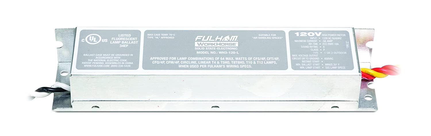 Amazon.com: Fulham WorkHorse Adaptable Ballast, WH3-120-L: Home ...