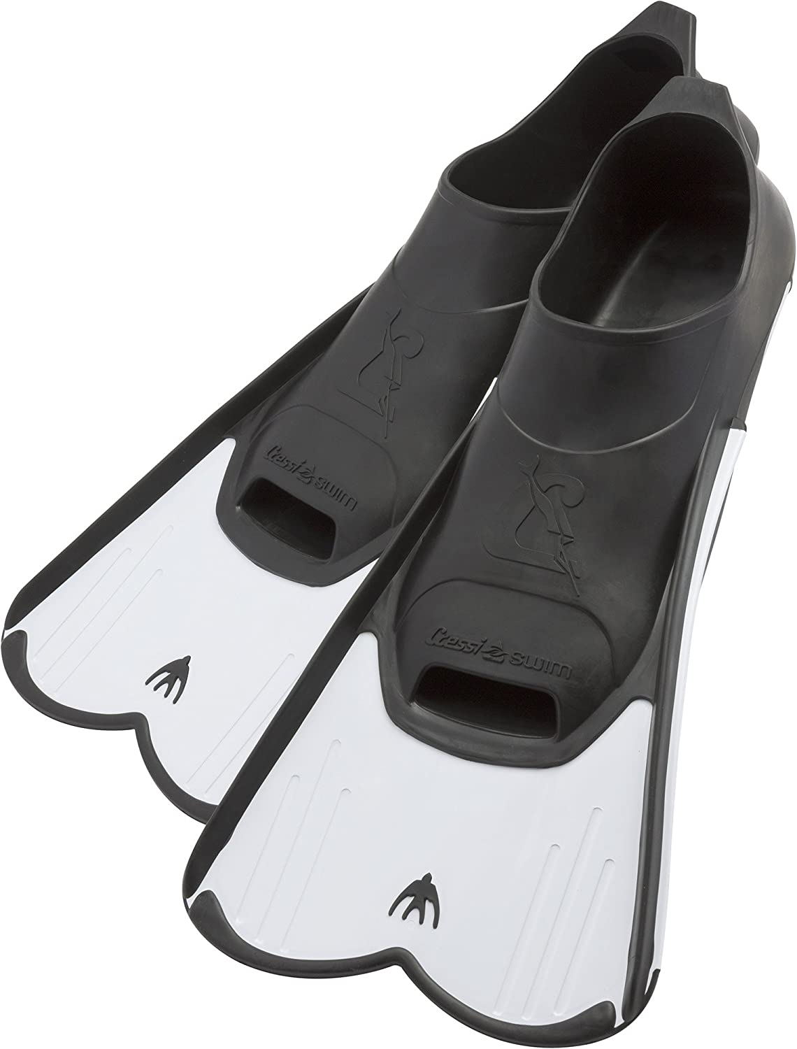 Cressi Light Fin Pool and Training Short Blade Closed Foot Fins