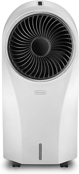 DeLonghi EV250.WH Climatizador Evaporativo con Ionizador y Filtro Antipolvo, Depósito de 4.5 L con 6 h de Autonomía, Protección ipx4, Pantalla Led, Mando a Distancia, Refrigeración Natural, Blanco: 160.43: Amazon.es: Hogar