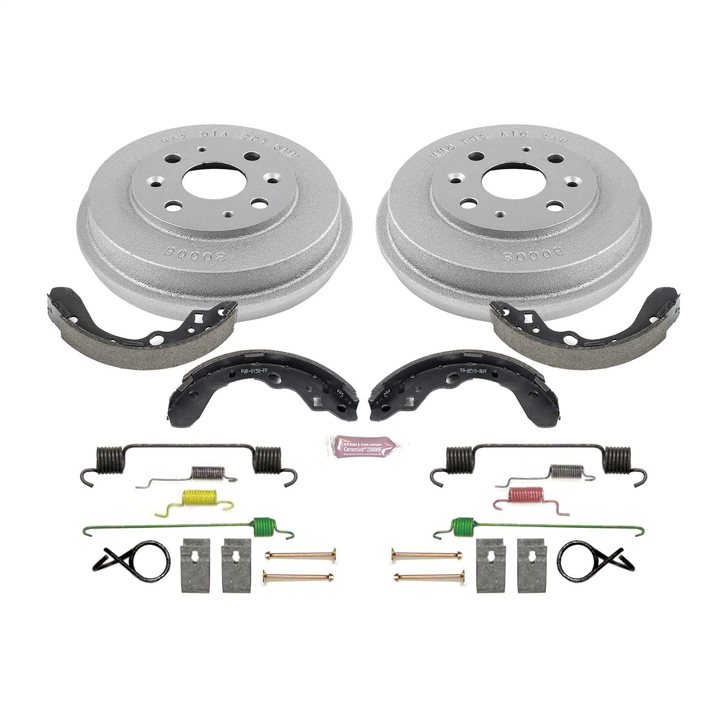 Power Stop Rear KOE15357DK Daily Driver Drum and Shoe Kits