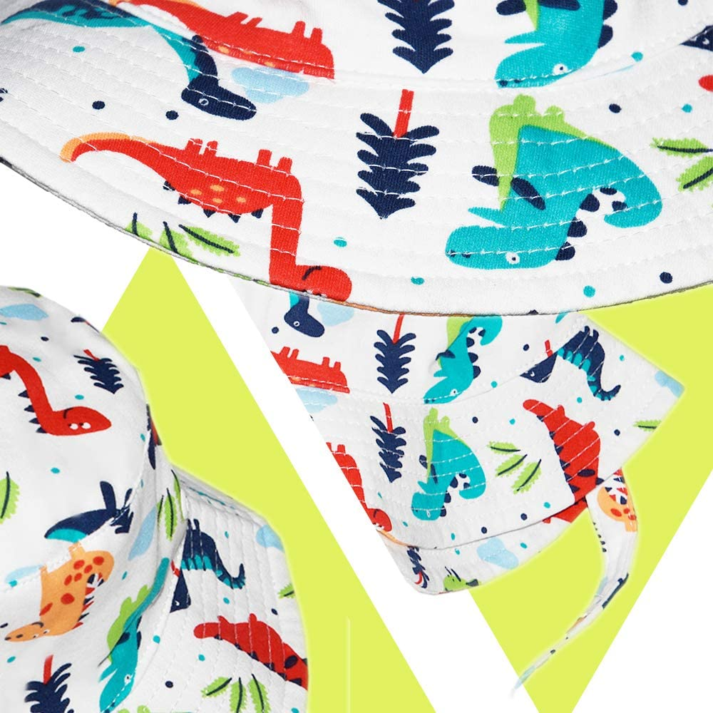 Toddler Boy Bucket Hat Cute Baby Girl Kids Sun UV Protection Shark Animal Hat