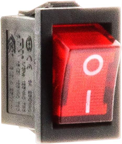 Interrupteur /à bascule unipolaire 250V 6A Zenitech
