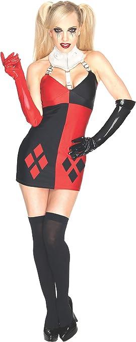 Rubies s Oficial Villano Harley Quinn Disfraz, Disfraz para ...