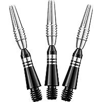 Viper Spinster Yukon Aluminum Dart Shaft: Short (SH), Black, 3 Pack