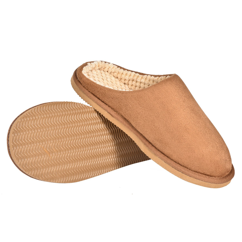 CLPP'LI Women's Soft Cotton Slip-on Memory Foam Indoor Slippers CLPP'LI