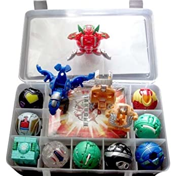 Amazon.com: 9 Bakugan Toy All Different + 9 Metal Cards With ...