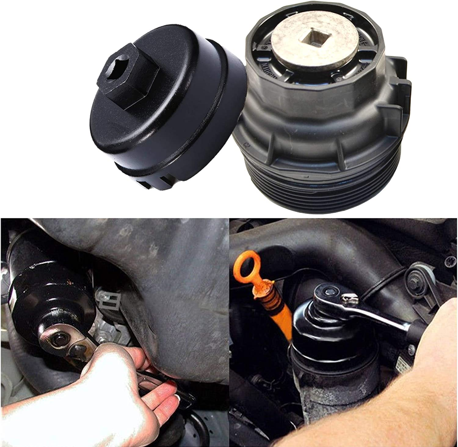 BESTWELL4U Replacement for Toyota//Lexus Oil Filter Wrench Fit Toyota Prius//Prius V//Corolla//Matrix Scion iM//iQ//xD with 1.8 Liter Lexus CT200h