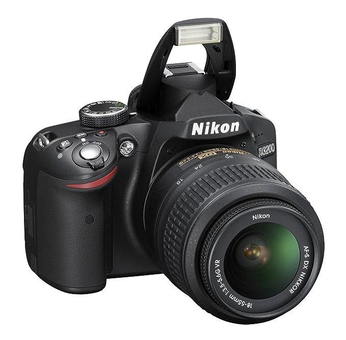 Buy Nikon D3200 242mp Digital Slr Camera Black With Af S 18 55mm