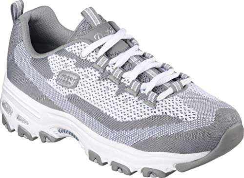 Skechers - D'Lites Reinvention 11955 - Gray White , Tamaño:eur 38