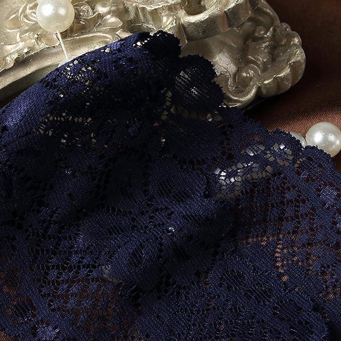 VJGOAL Moda Mujer Sexy Encaje Tanga de Lazo Cintura Baja Dulce Stretch V-String Briefs G-String Ropa Interior erótica(Un tamaño, Azul): Amazon.es: Ropa y ...
