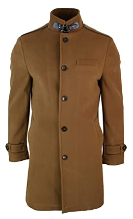 1fff7d3ee5da3 Veste longue manteau 3 4 col Mao montant décontracté chic hiver homme