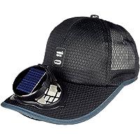 Ventilador Solar Gorra De Béisbol De Refrigeración USB