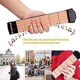 Pocket Guitar Practice Neck,Beaucares Finger