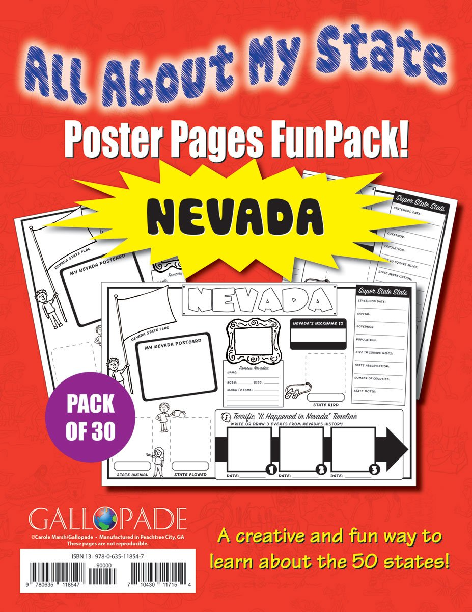 All About My State-Nevada FunPack (30): A FunPack of Poster Pages for Creative Learning Fun! (Nevada Experience) pdf epub