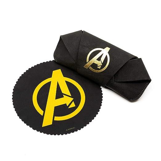 3483ab8e28 Amazon.com  DIFF Eyewear - Captain Marvel Avengers Endgame Cruz - Officially  Licensed Designer Sunglasses for Men   Women - 100% UVA UVB (Avengers Black  + ...