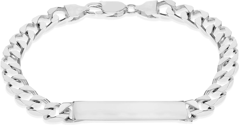 Tuscany Silver 8.29.0313 - Pulsera de plata de ley (925/1000)