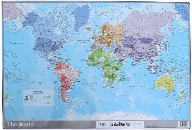 Cartina Mondo Tiger.Tiger Mappa Del Mondo Sottomano Amazon It Cancelleria E Prodotti Per Ufficio