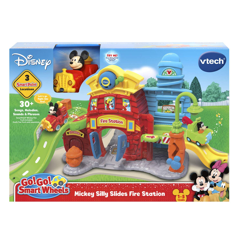 VTech Go! Go! Smart Wheels Mickey Mouse Silly Slides Fire Station by VTech (Image #6)