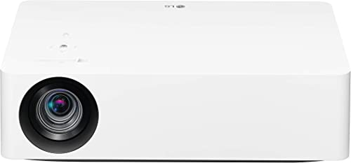 LG HU70LA 4K UHD Smart Home Theater CineBeam Projector with Alexa Built-in, LG ThinQ AI, Google Assistant, and LG webOS Lite Smart TV Netflix, and VUDU