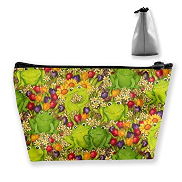 2f13d51e71f7 Amazon.com : Multifunction Portable Toiletry Bag - Frogs Green ...