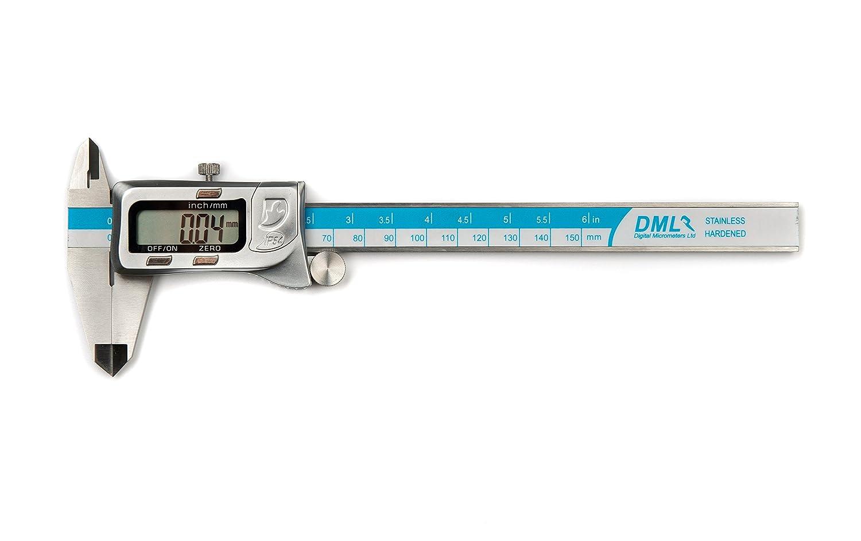 DML 150/Â/mm 15,2/Â/cm IP54/Â/r/Ã/©sistant /Ã/ leau Pied /Ã/ coulisse digital 12/Â/mois de garantie