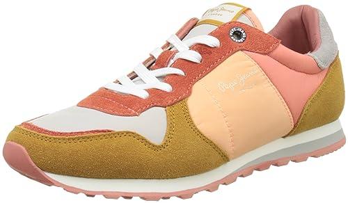 Pepe Jeans Verona W Colors, Zapatillas para Mujer: Amazon.es: Zapatos y complementos