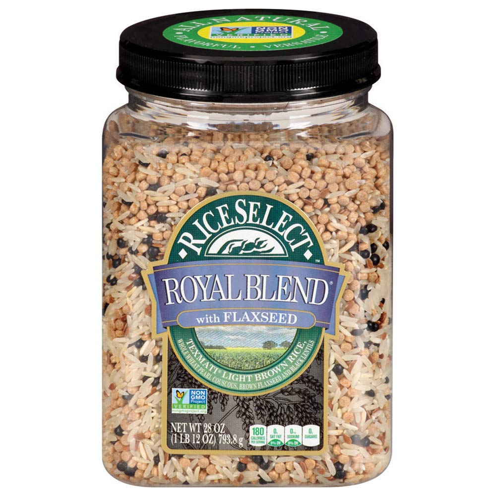 RiceSelect Royal Blend with Flaxseed Rice, 28oz
