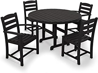 product image for POLYWOOD La Casa Café Dining Set, Black