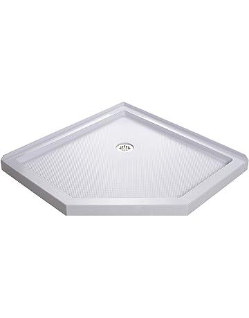 Shower Bases Pans Amazon Com Kitchen Bath Fixtures Showers