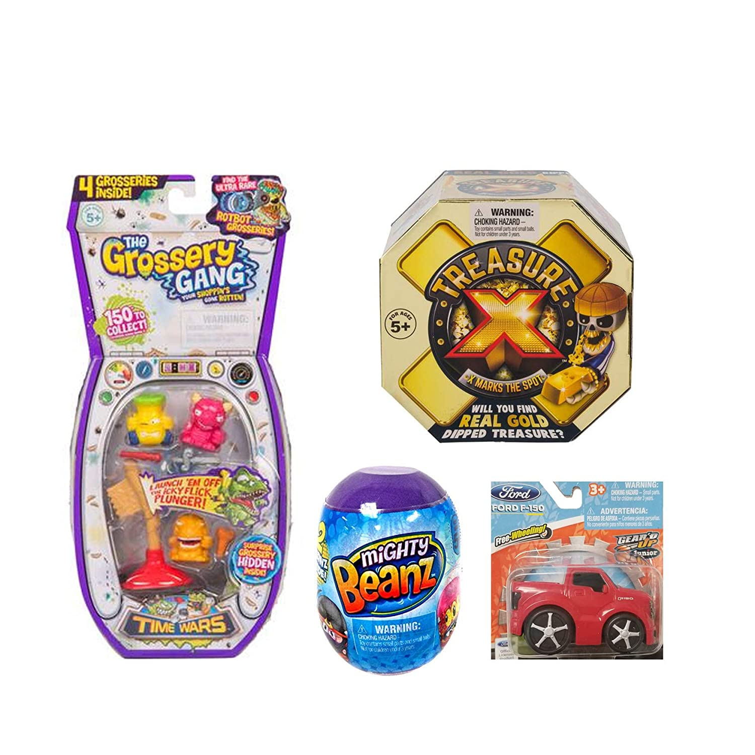 Simple Joy Treasure X and Might Beanz Gift Set for Boys Customized Set