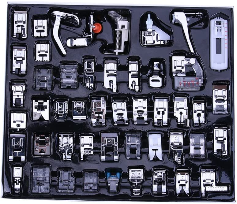 N/ähmaschinen-N/ähfu/ß-Set N/ähf/ü/ße Ersatzteile Zubeh/ör f/ür Haushalt Multifunktions-N/ähmaschinen 32 kit