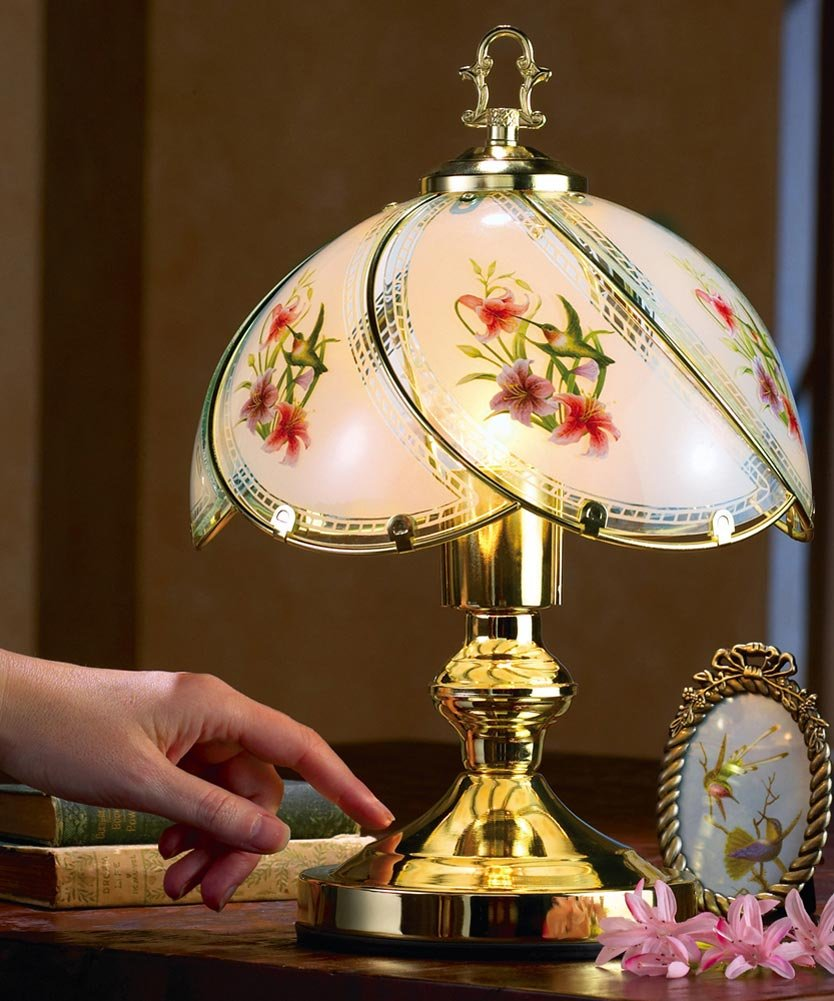 Collections Etc Hummingbird Desk Touch Lamp by Collections Etc (Image #2)