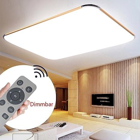 Lámpara LED para techo Szysd, plafón para techo de baño, de ...
