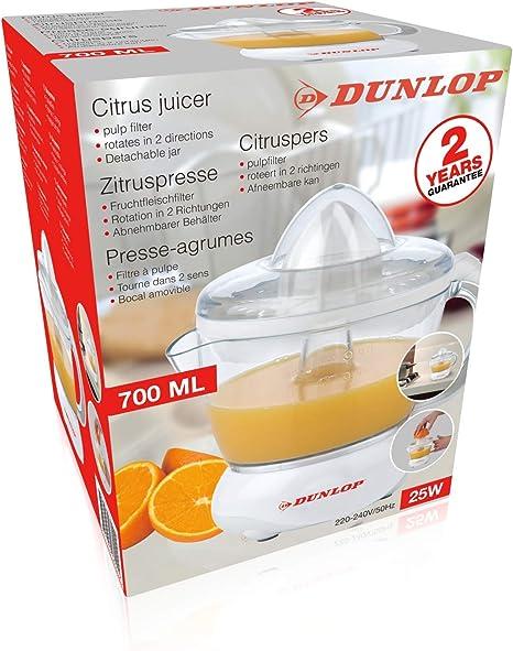 Dunlop Power Juicer 1L Profi-Entsafter 350W elektrische Saftpresse Obstpresse