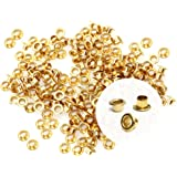 CRAFTMEmore 3MM Hole 200PCS Tiny Grommets...