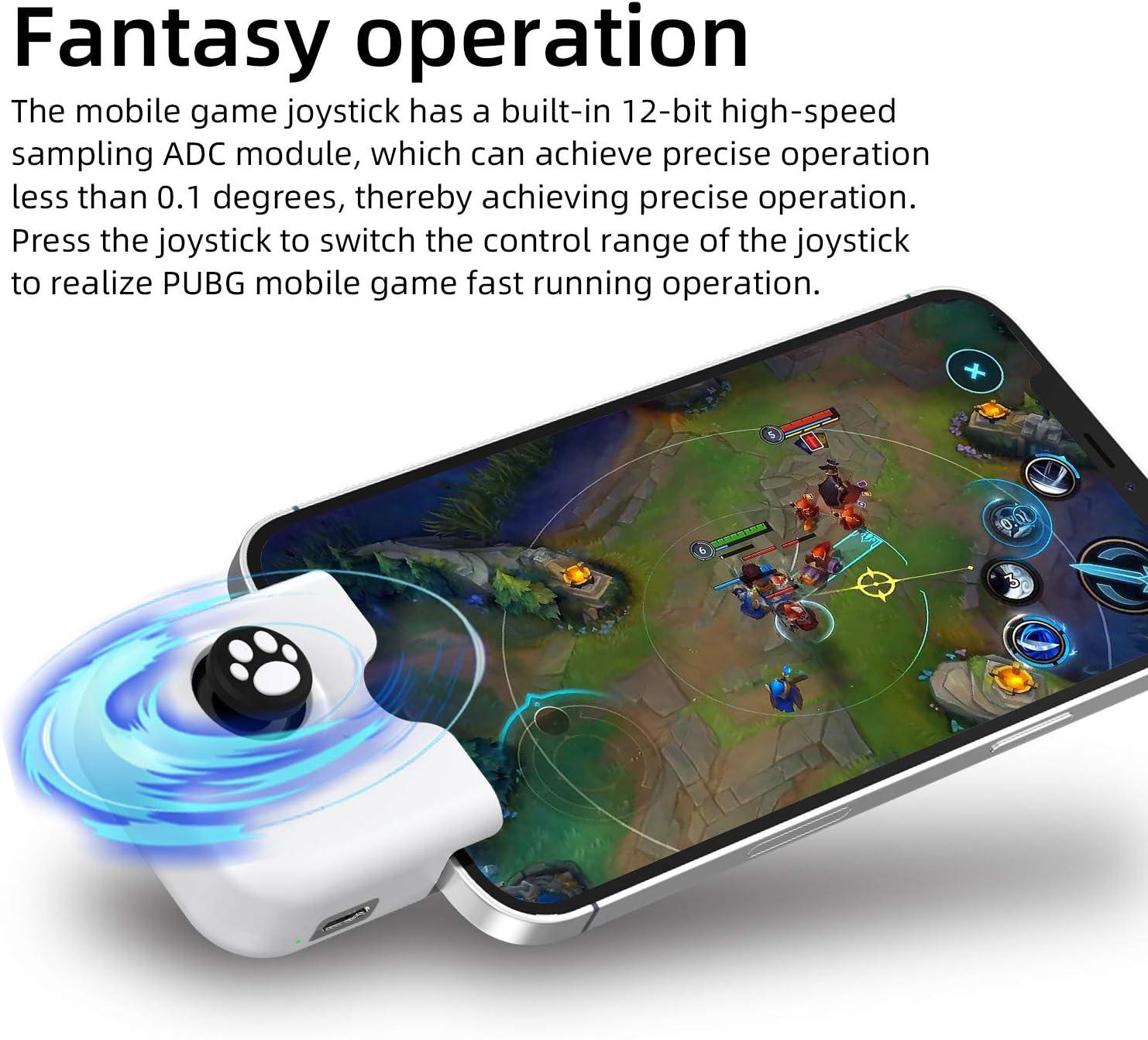 CODM Wild Rift Call of Duty Mobile Triggers L1 R1 Tasten Joystick iOS 13.4 oder h/öher Combo-Set kompatibel mit PUBGG Mobile IFYOO Gaming-Controller f/ür iPhone Genshin Impact