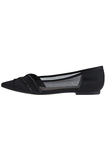 Nina Shoes Damen Ballerinas KIYRAH Glitzereffekt JAqCGFW