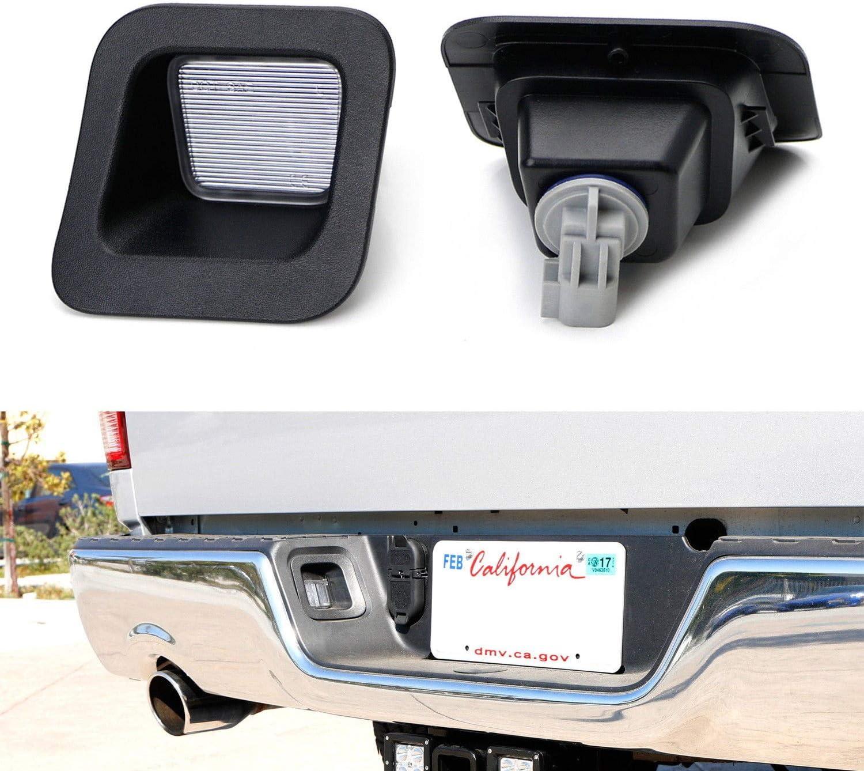 NDRUSH License Plate Light Sockets Wiring Harness Plug Connectors ...