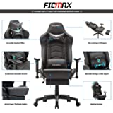 Ficmax Ergonomic Gaming Chair Massage Computer