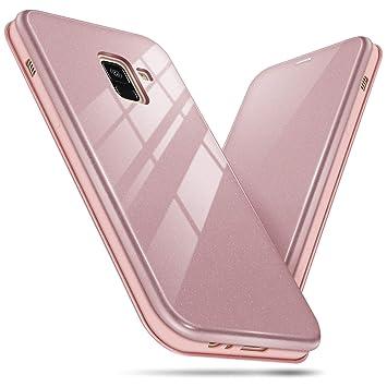 BEZ Funda para Samsung Galaxy A8 2018, Carcasa de Teléfono ...