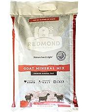 REDMOND Goat Mineral Supplement Mix, Unrefined Salt, (25 LBS)