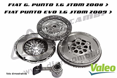 Kit Embrague + Volante + Rodamiento Hidráulico Valeo kv0133 – 836037 – 826865 – 804567