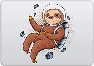 Laptop Stickers MacBook Decal - Removable Waterproof Vinyl - Astronaut Sloth Animal Decal Skin for Apple MacBook Air Pro 13 15 inch Mac Retina - Decorative Sticker by Artsybb