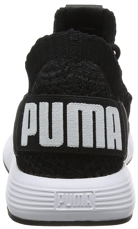 Puma Unisex-Erwachsene Uprise Knit Sneaker Schwarz (Puma schwarz-iron Gate-puma Gate-puma schwarz-iron Weiß 01) 9d59d3