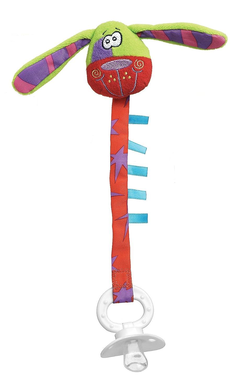 【在庫有】 Playgro B001RCU75S Zany Zoo Dog Pacifier Zany Clip for Baby by Dog Playgro B001RCU75S, すわき後楽中華そば:3c300067 --- a0267596.xsph.ru