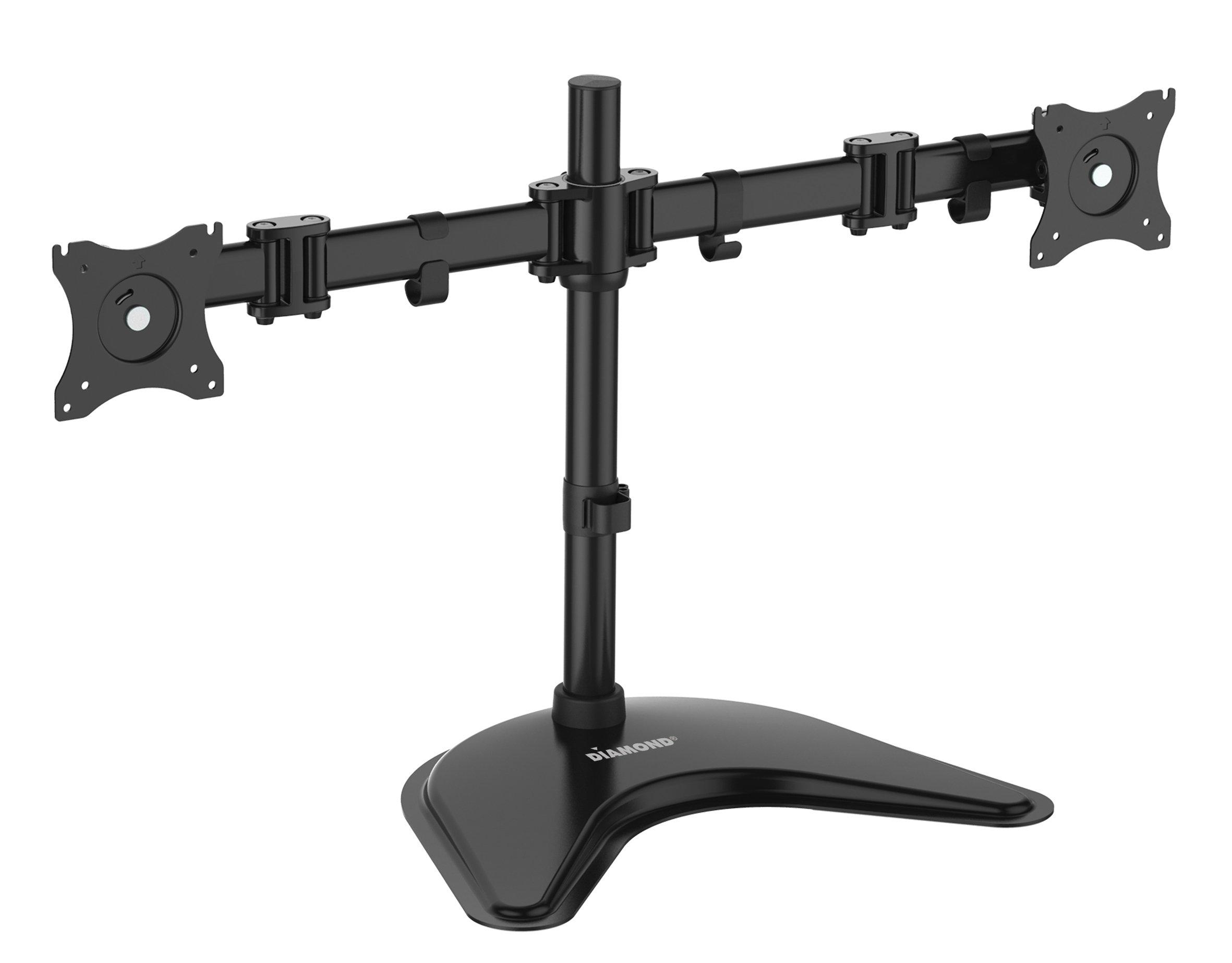 Diamond Multimedia ARMTT2 Ergonomic Articulating Dual Arm Display Table Top Mount
