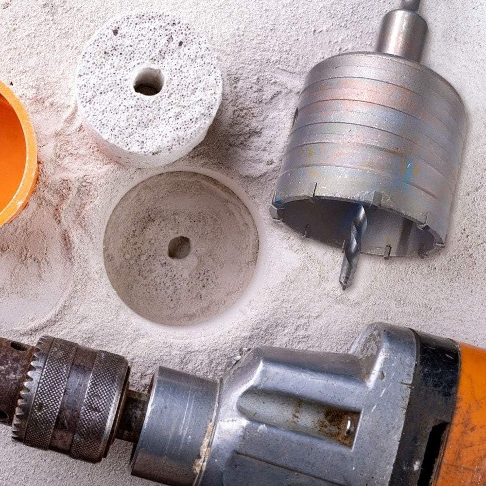flintronic Sierra Corona Perforadora Hormigon En Seco /Ø 80mm Sierra Remover Herramientas Hueca Corona con 2 Cortes Y 2 Broca de Centrado 1 llave inglesa Adaptador SDS Plus